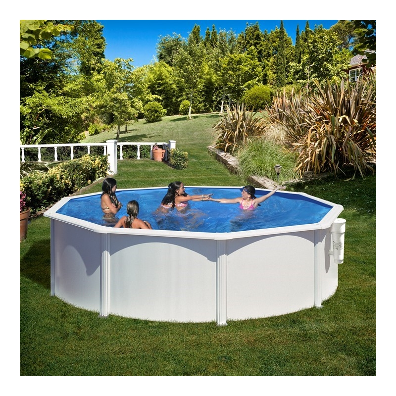 Liner 40 100 me pour piscine m tal misterliner le for Remplacement liner piscine waterair