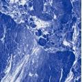 Marbré bleu