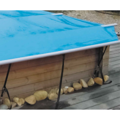 B che barre woodsecurit misterliner le sp cialiste for Bache a barre piscine